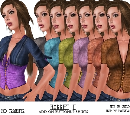 harriet buttonup ad
